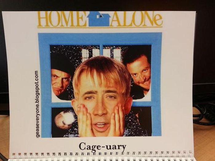 Nicolas Cage Calendar