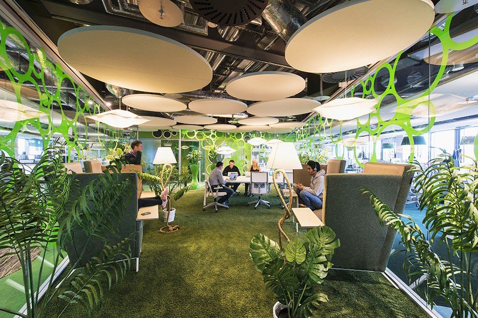 The European headquarters of Google in Dublin