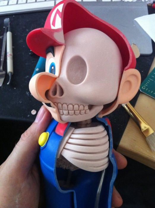 Dissected Mario