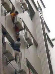 Saved by an Air Conditioner