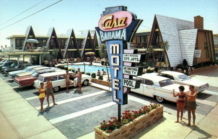 USA in the 50s-70s