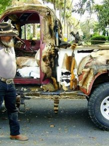 WTF Taxidermy Truck