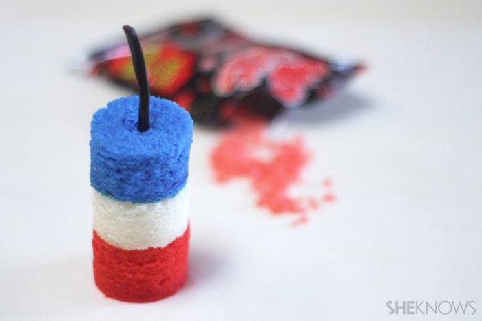 Pop Rocks-Filled Dessert