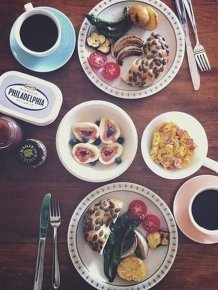 Beautiful Instagram Breakfast Photos