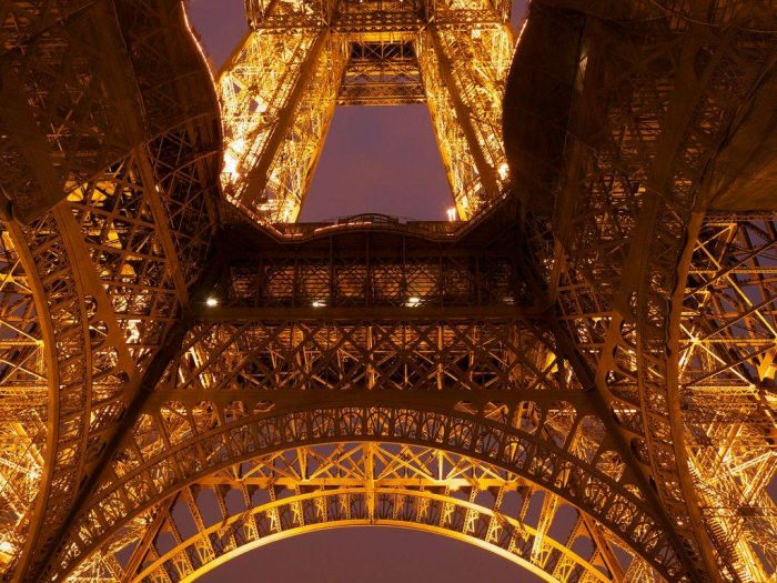 The Eiffel Tower from Different Perspectives