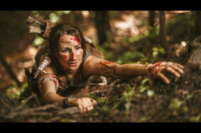 Russian Lara Croft