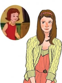 Kids of Magic School Bus Then and Now