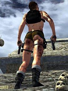 Male Lara Croft