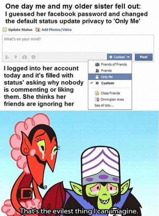 Doing Evil Things