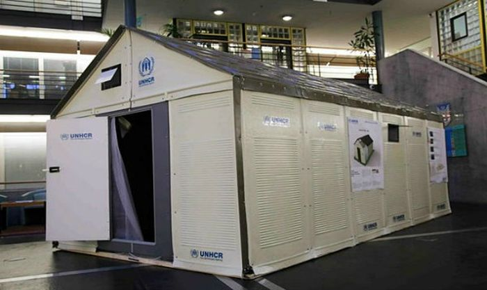 Flat Pack Refugee Shelters