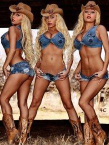 Sexy Cowboy girls