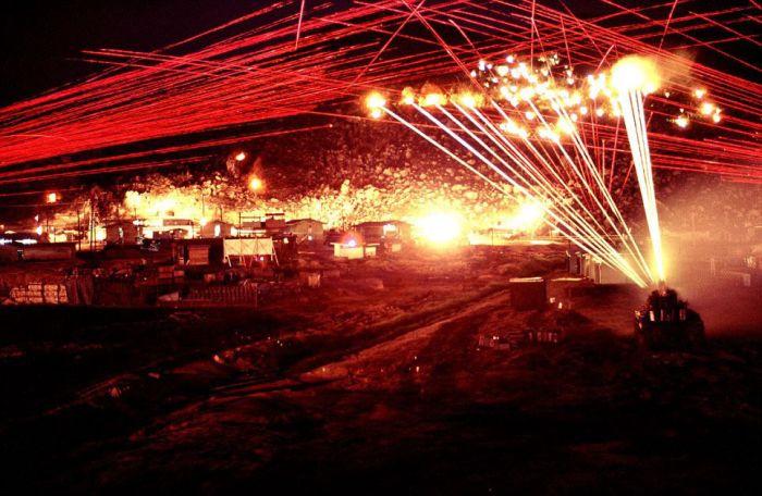 Incredible Night Photos of Vietnam War