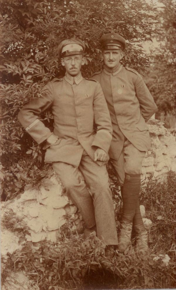 German Soldiers During WWI