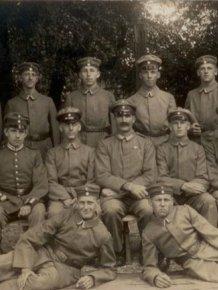German Soldiers During WWI