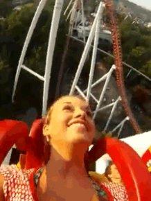 Reactions To Amusement Park Rides