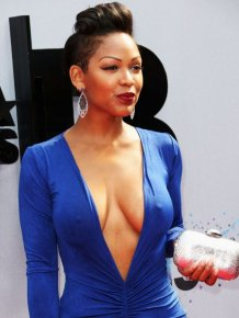 Meagan Good Has a Pretty Dress