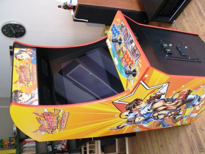 Homemade Arcade Game Machine