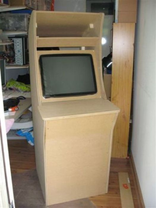 Homemade Arcade Game Machine