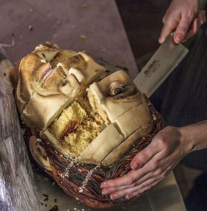 Dexter Cake, part 2
