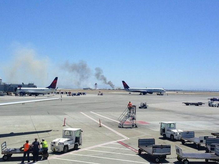 Plane Crash in San Francisco