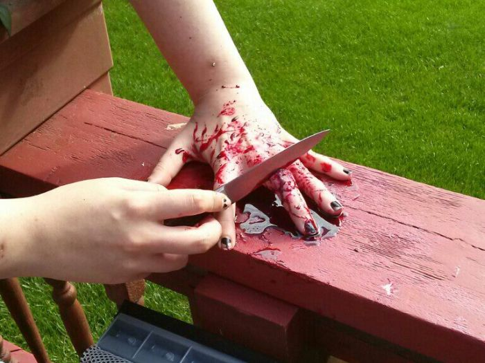 DIY Special Effects for a Horror Movie