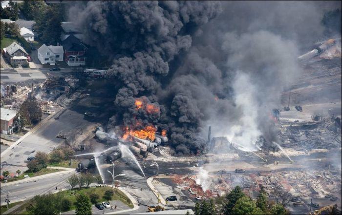 Oil Train Crash