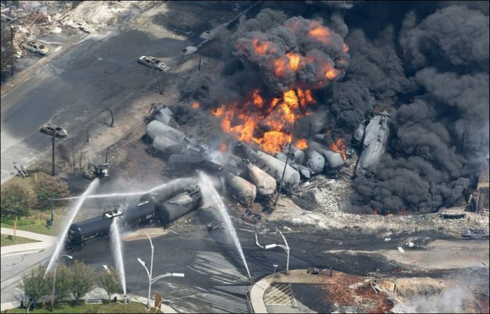Oil Train Crash