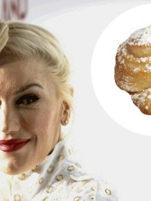 Gwen Stefani Has Bread Hair