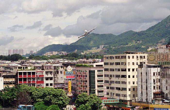 Kai Tak, World's Most Dangerous Airport in Hong Kong