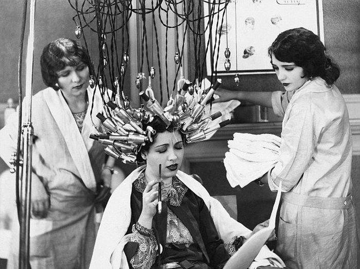 Beauty Treatments a Century Ago