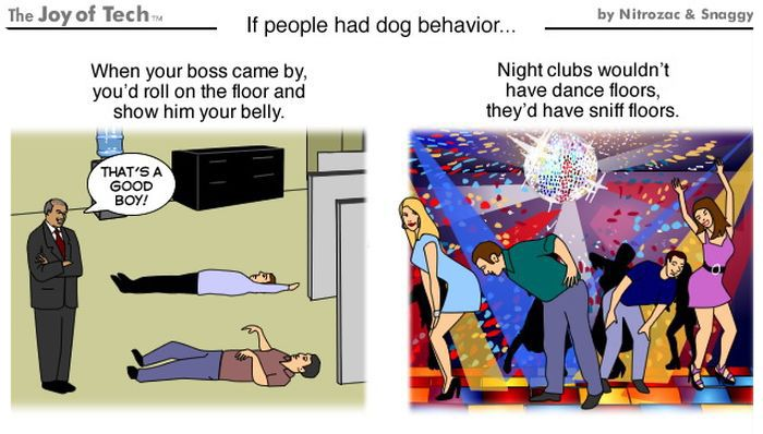If People Behaved Like Dogs