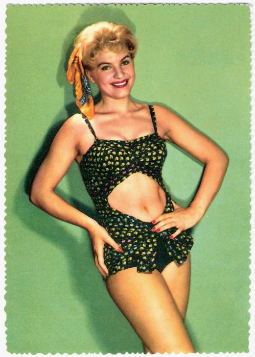 Swimwear from the 40s and 50s
