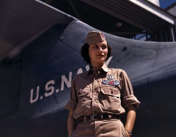 Colorized WWII USA Photos