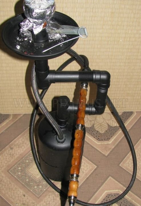 The Best Self-Made Hookah Ever