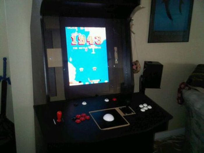 Another Homemade Arcade Game Machine
