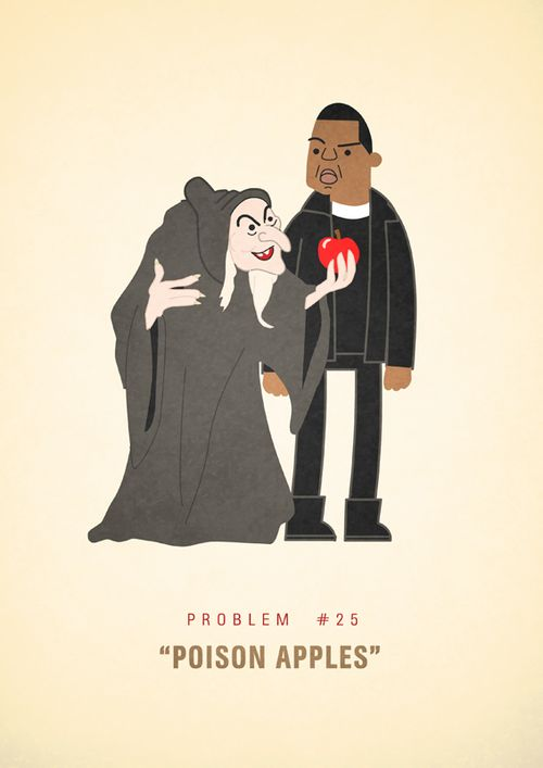 Jay-Z's 99 Problems Illustrated