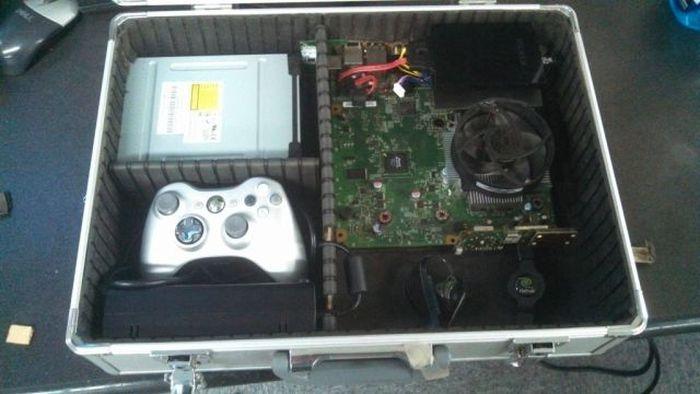 Custom-Made Xbox Briefcase