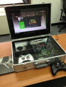 Custom-Made Xbox Briefcase