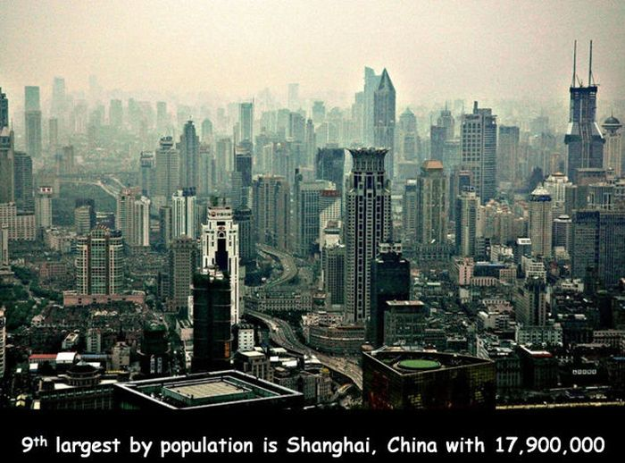 The World's Most Crowded Places