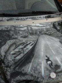 Walking Dead Airbrush