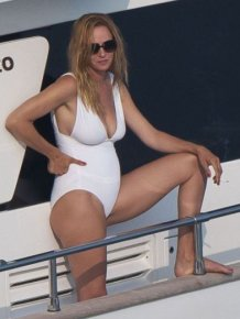 Uma Thurman in Swimsuit