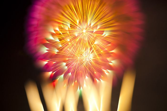 Long Exposure Fireworks