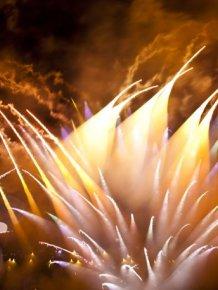 Long Exposure Fireworks