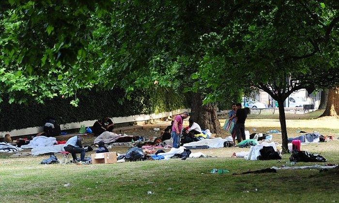 London Occupied by Gypsies