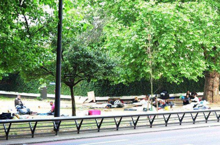 London Occupied by Gypsies