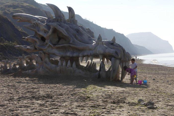 Huge Dragon Head
