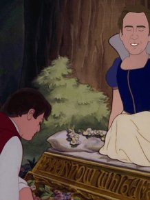 Nicolas Cage As Disney Princesses