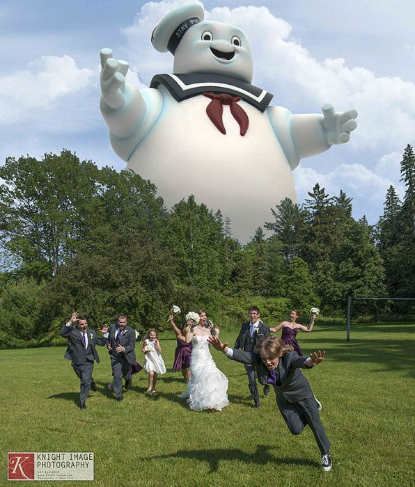 Crazy Wedding Party Attack Pictures