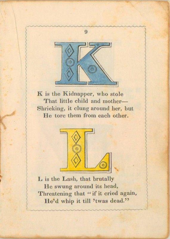The Anti-Slavery Alphabet