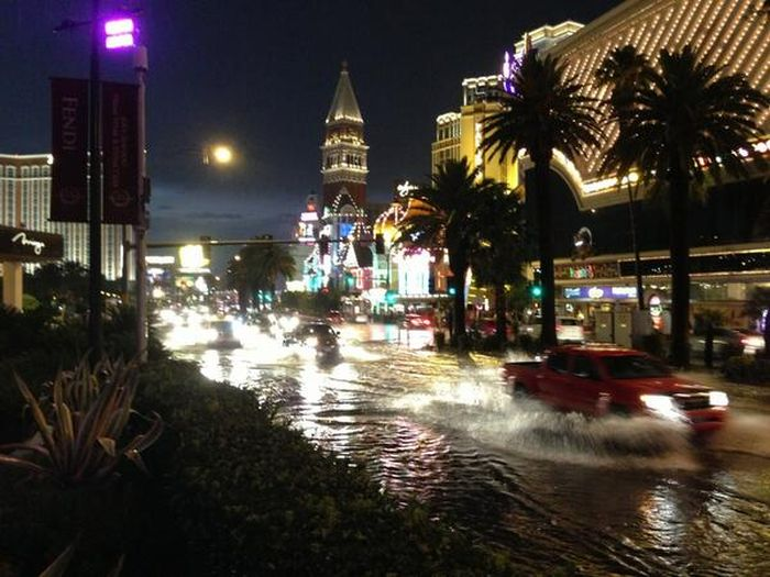 When Las Vegas Floods